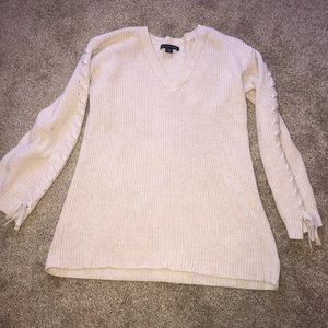 light pink american eagle sweater